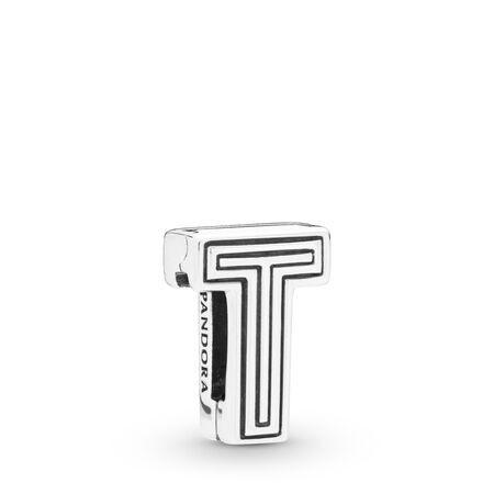 Letter T Charm