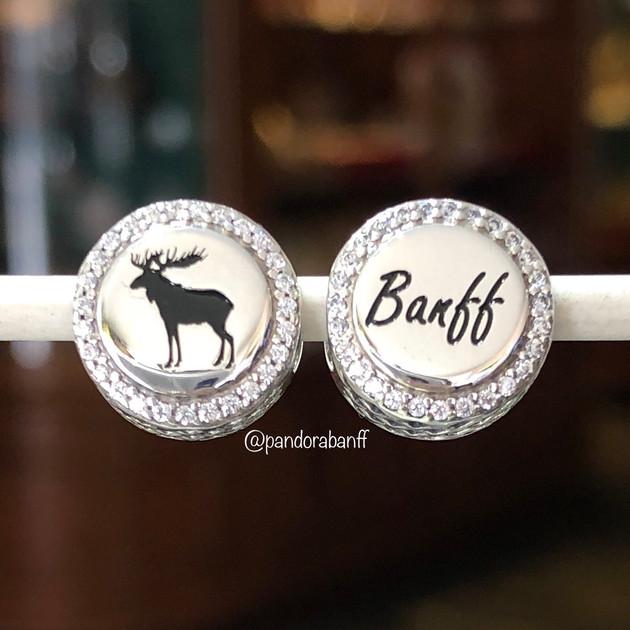 Banff Moose Charm