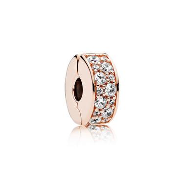 Shining Elegance, PANDORA Rose™ & Clear CZ