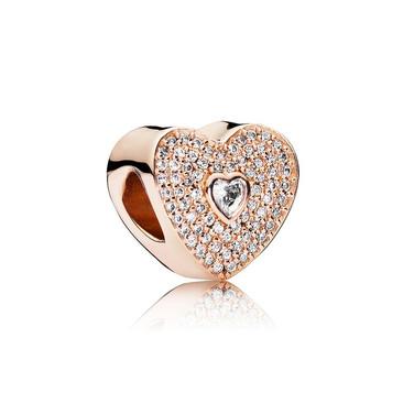 Sweetheart, PANDORA Rose™ & Clear CZ