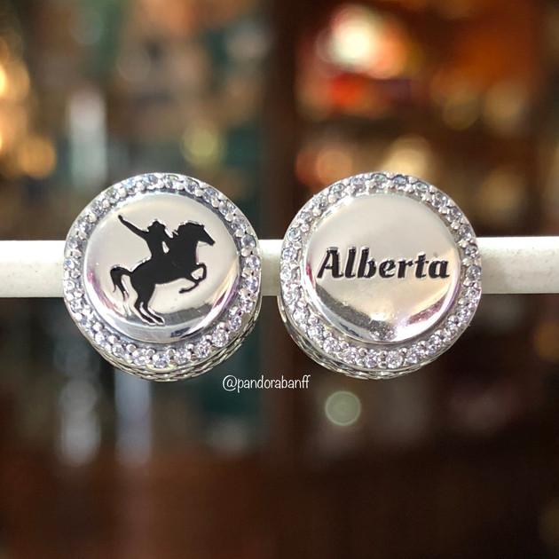 Alberta Bronco Charm