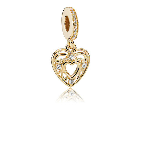 Romantic Heart, Clear CZ