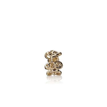 Trinity Flowers, 14K Gold