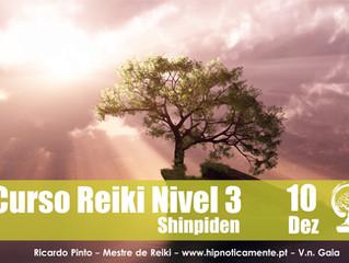 Curso Reiki Nivel 3, 10 de Dezembro