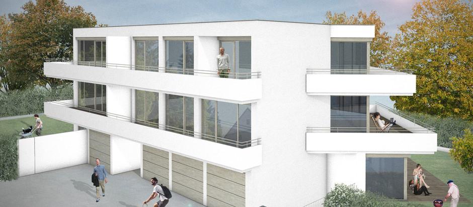 Neubau einer Wohnanlage in der Dr.- Berndl-Straße Memmingen