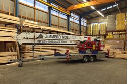 Mobiler Kran zum Baustelleneinsatz
