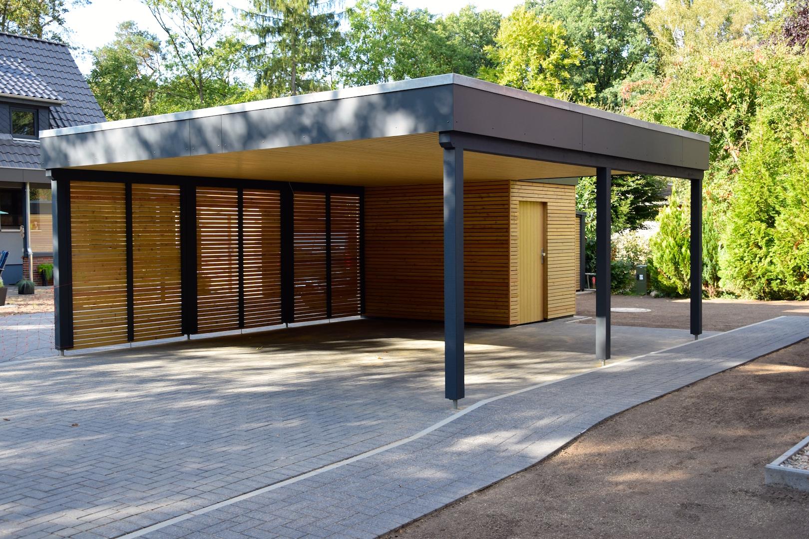 Detail Carport | DENO Hausbau