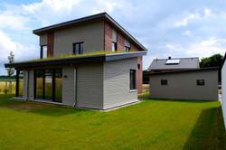Hausansicht Süd-West | DENO Hausbau