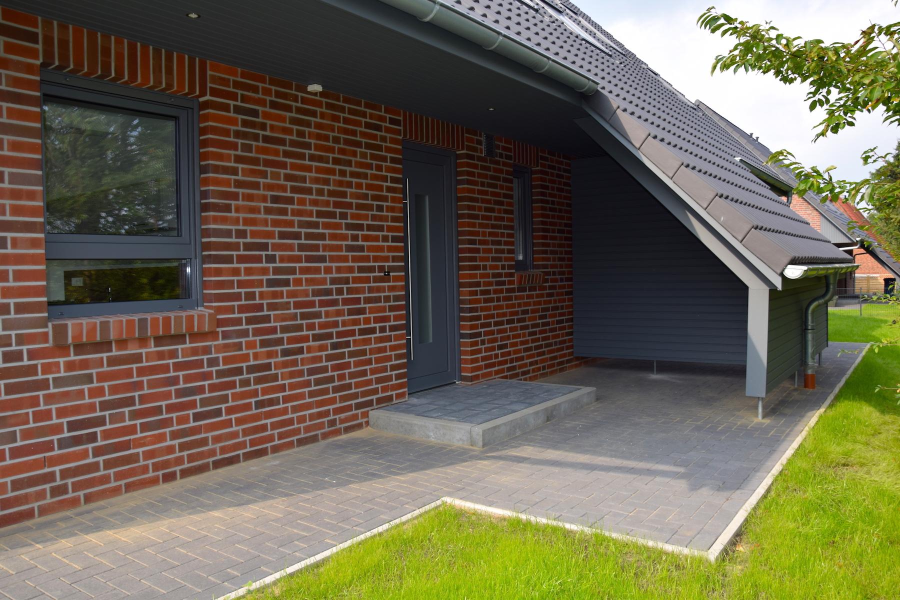 Ansicht Eingang | DENO Hausbau