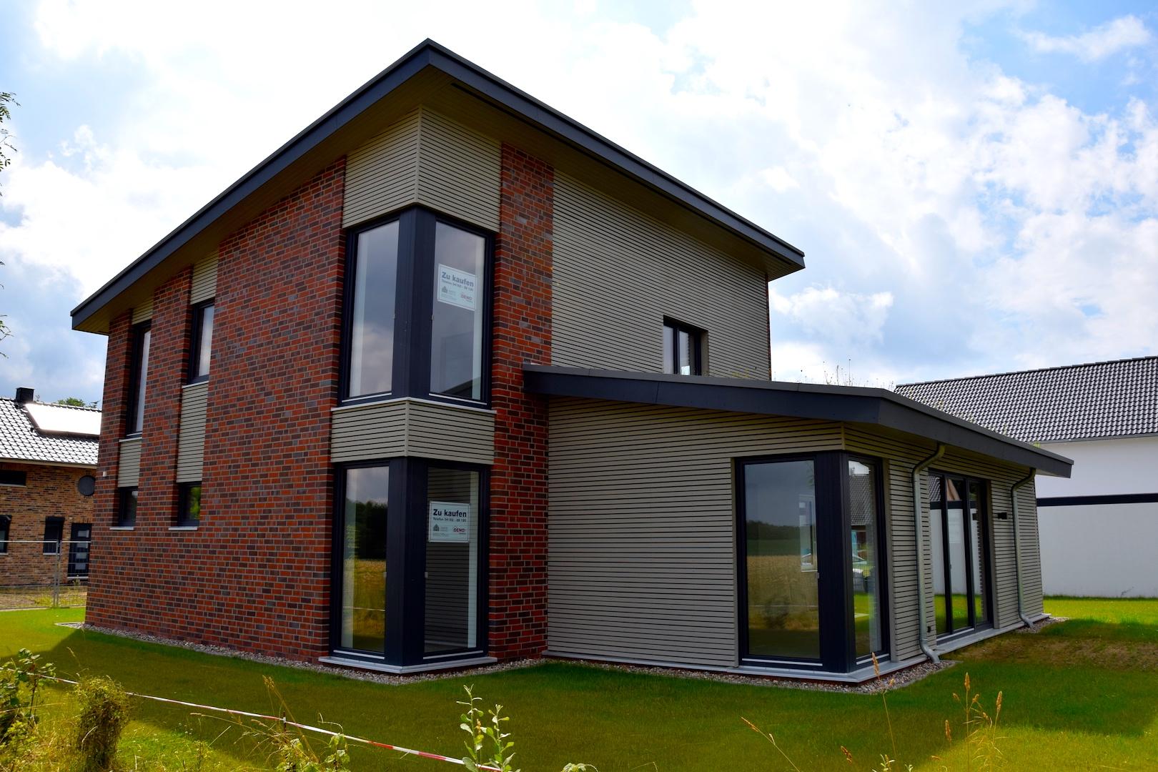 Hausansicht Nord-West | DENO Hausbau