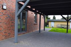 Ansicht Seiteneingang | DENO Hausbau