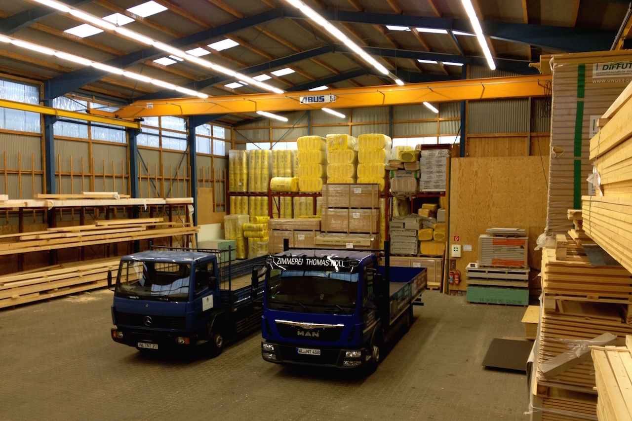 Firmenhalle in Tostedt bei Hamburg