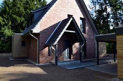 Detail Hauseingang | DENO Hausbau