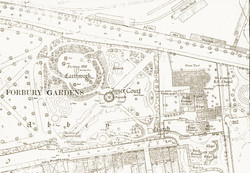 Forbury: 1873 OS Map