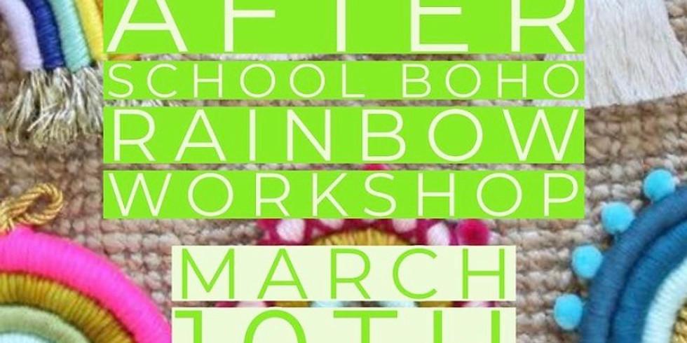 Boho Rainbow After School Workshop