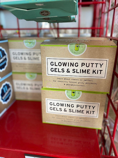 Glowing Putty, Gels, & Slime Kit