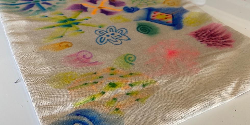 Tye Dye Tote Bag Workshop