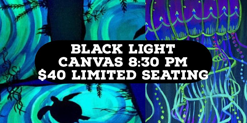 Black Light Canvas