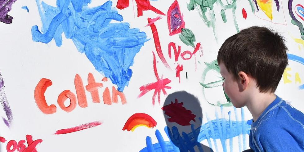 Preschool mural 3:00pm