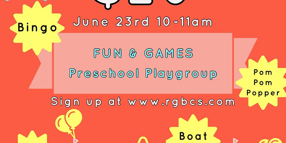 Fun&Games Preschool Playgroup