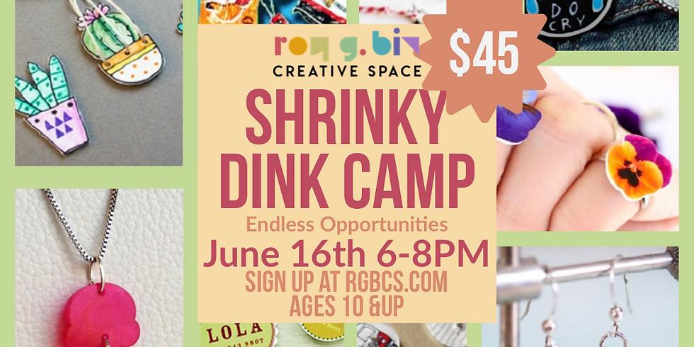 Shrinky dink camp!