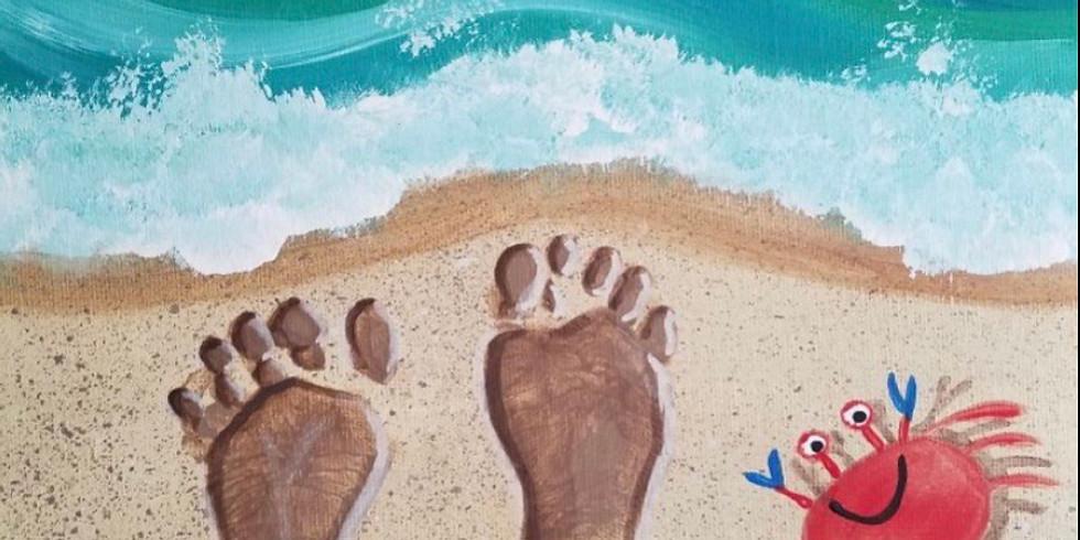 Spring Break Workshop: Beach Canvas