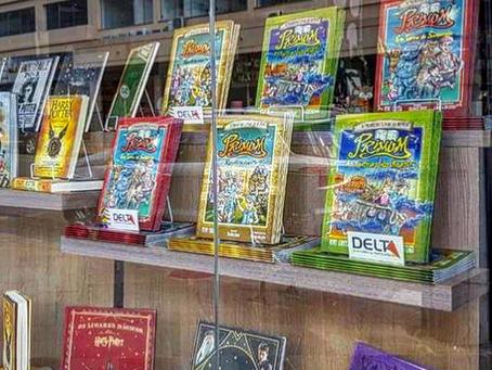 """A série literária """"PRIMUM - O Primeiro Livro do Mundo"""""""