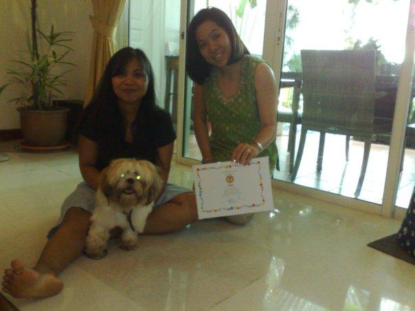 PUPS Obedience Graduates