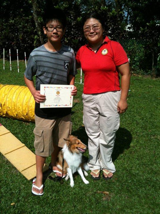 PUPS Agility Graduates