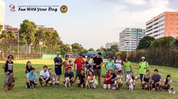 Group dog training Seminar Photo