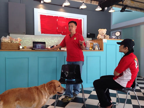 PUPS Dog Trainers Certification Class