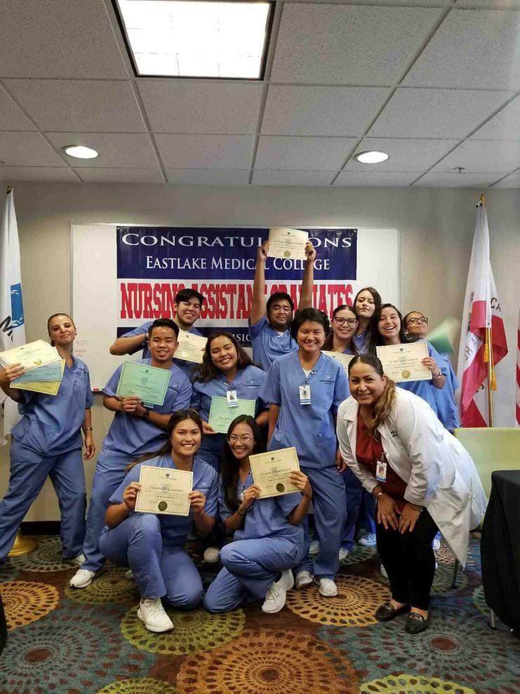 Eastlake Medical College San Diego CNA Program Eastlake CNA Class CNA Class San Diego CNA Class Chula Vista