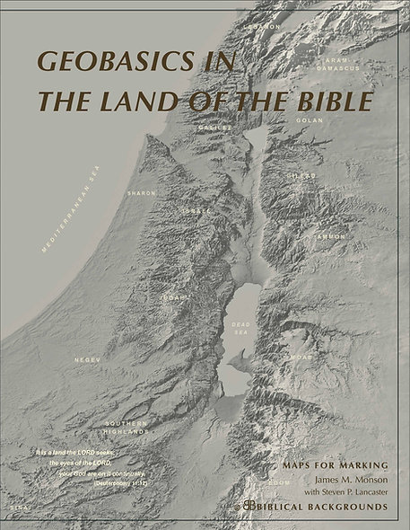 Geobasics in the Land of the Bible