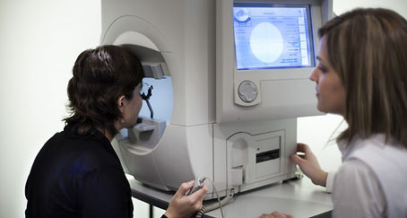 Comprehensive eye exams at Marion Eye Center in Marion, OH