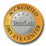 Marion Eye Center is an accredited dry eye teartab center