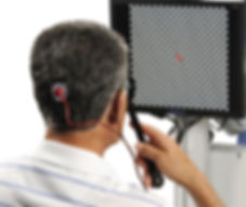 Electroretinogram (ERG) eye test at Marion Eye Center in Marion, OH