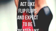 Don't act like flip-flops