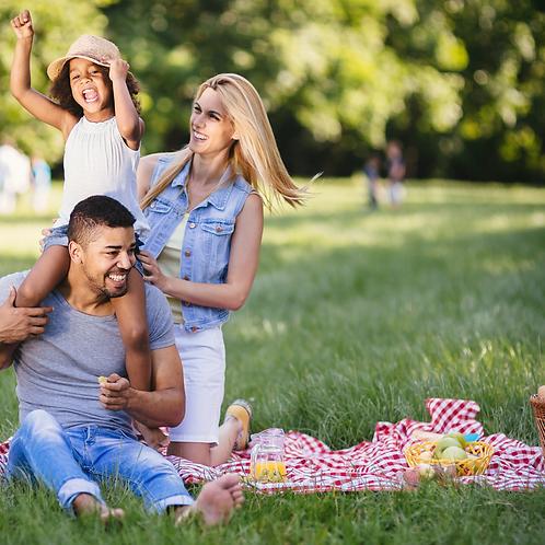 Picknick kids