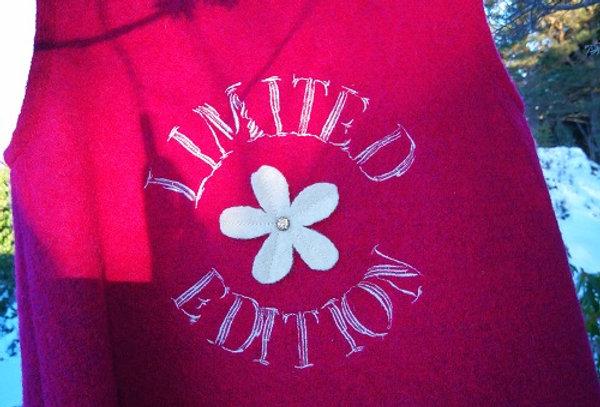 Kul rosa Limited Edition ullkjole str4 år