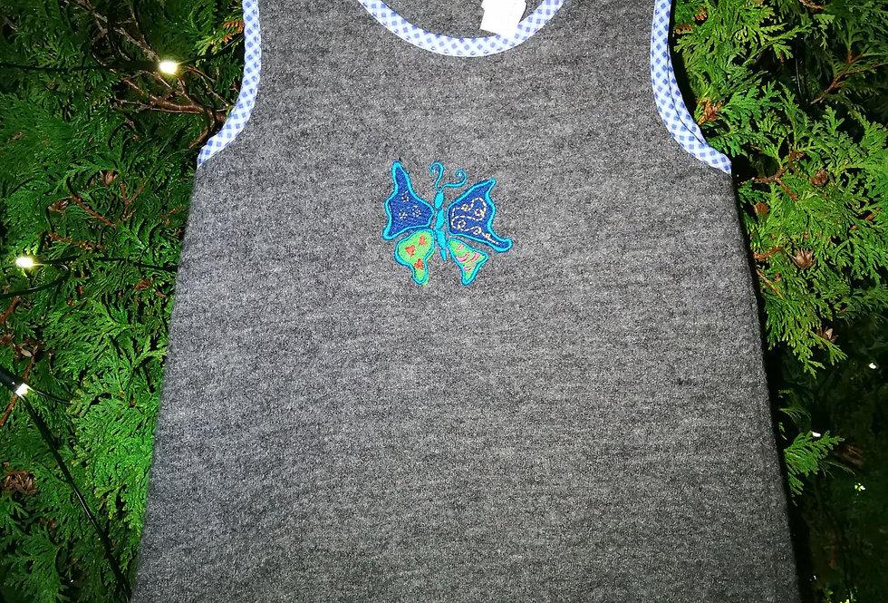 Blå sommerfugl. Str.2 år