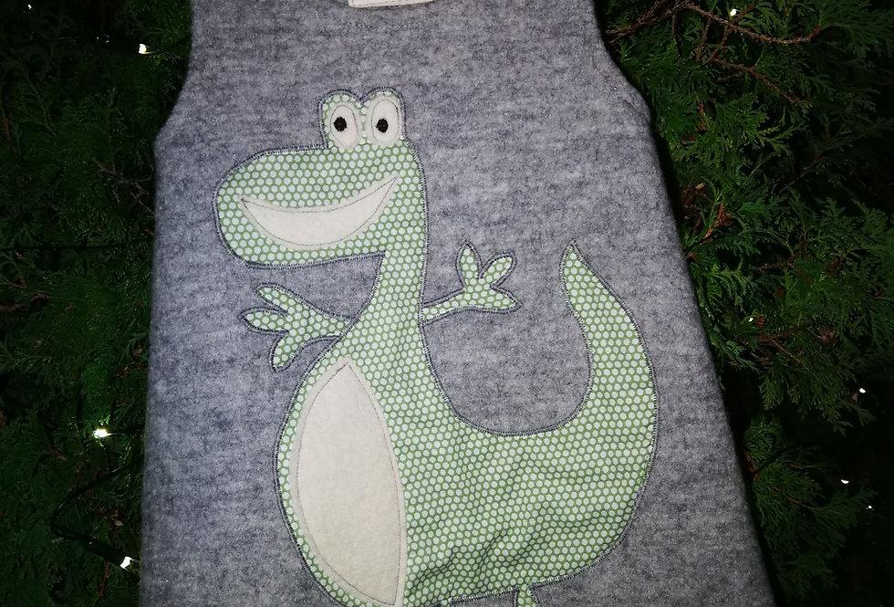 Dinosaur kjole str2 år