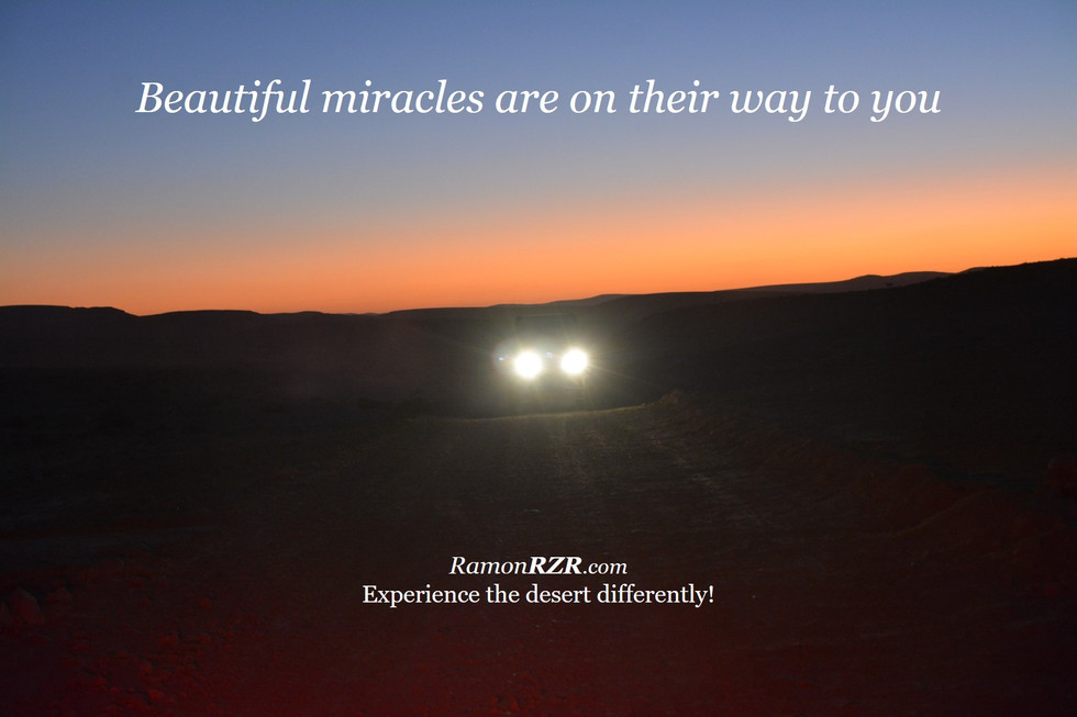 Beautiful miracles are on their way to you