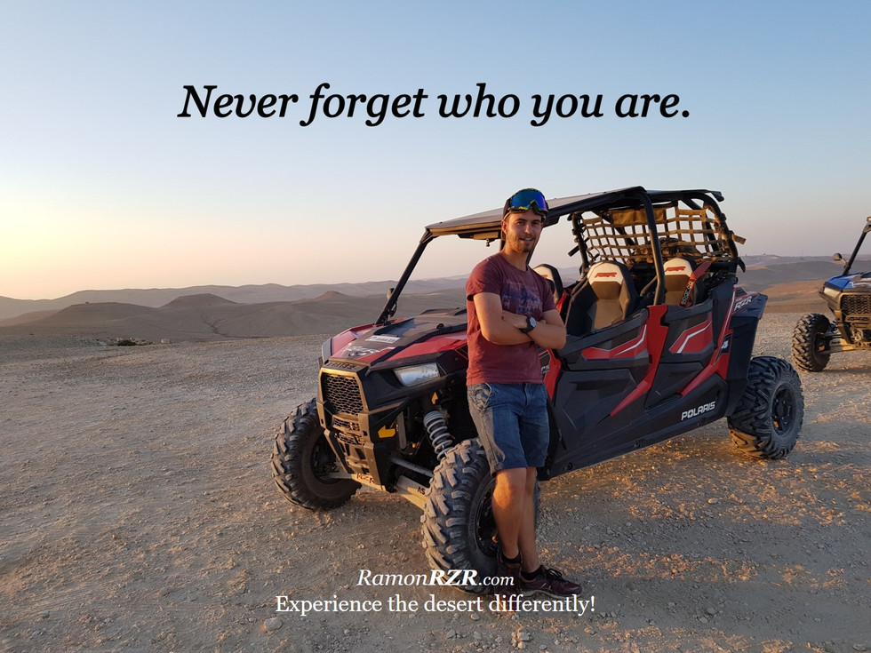 Never forget who you are.