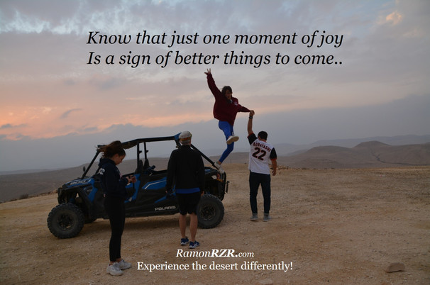 Know that just one moment of joy Is a si