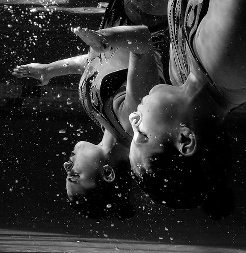 Alessandro Trovati, Nuoto sincronizzato.jpg
