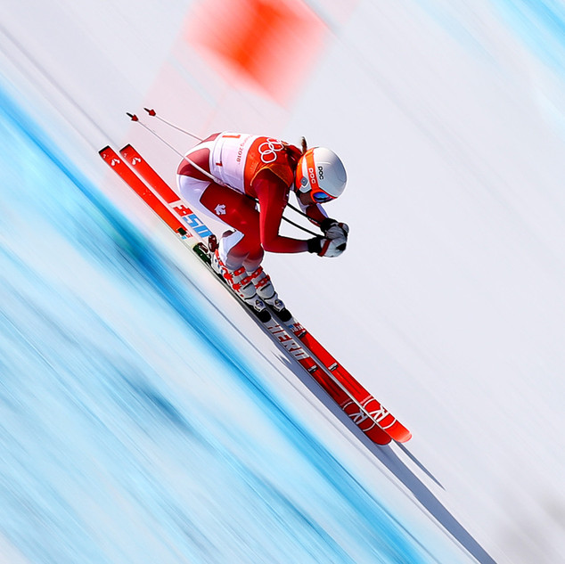 MICHELLE GISIN WINTER OLYMPIC GAMES 2018