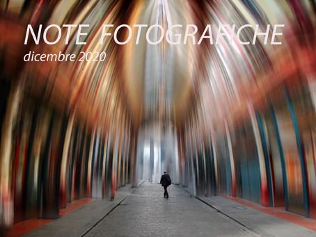 NOTE FOTOGRAFICHE dicembre 2020