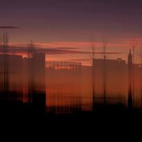 Francesco Tadini Light's memory, skyline
