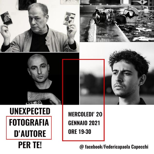 UNEXPECTED Fotografia d'autore per te!