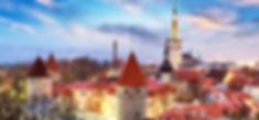 Tallinn Old City Night
